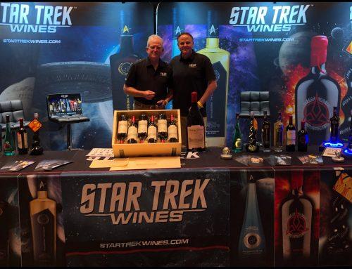 Star Trek Wines live in Las Vegas!