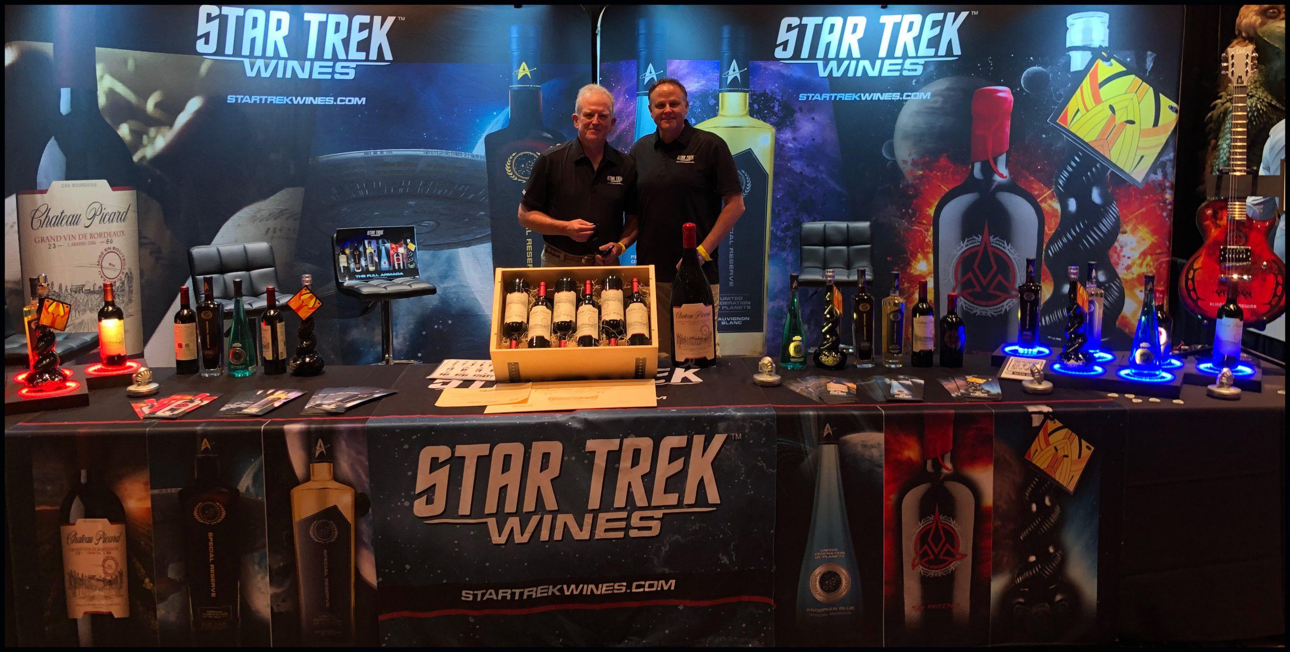 Star Trek Wines Live in Las Vegas